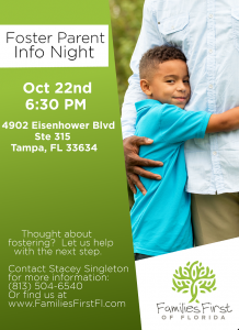 Foster Parent Information Night @ Families First of FL